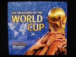 [Football/Soccer] Treasures Of The World Cup [Hardback in Sleeve] Loganholme Logan Area Preview