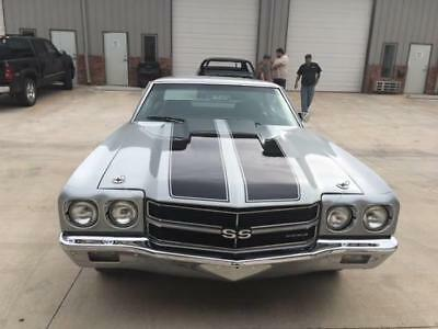 1970 Chevrolet Chevelle SS 1970 Chevelle SS - Frame Off Restoration - Cortez Silver!