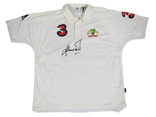 Shane Warne Signed Photograph and Shirt