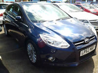 Ford Focus 1.6 TDCi 115 Titanium X (FULL LEATHER+SAT NAV)
