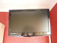 "TV - TECHNIKA 21"" WITH BUILT IN DVD PLAYER REMOTE CONTROL AND WALL BRACKET"