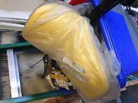 Yellow pw50 fender