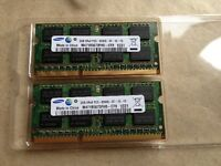 Mémoire VIVE RAM 2X2GB DDR3 MACBOOK PRO