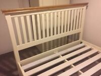 Solid sturdy wooden double bed. Excelente condition