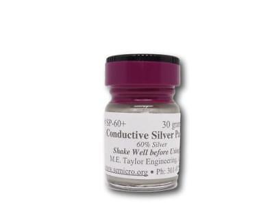 Conductive-60 Silver Ink 30 Grams Brush In Cap