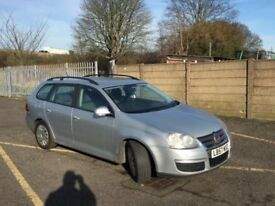 Volkswagen golf tdi estate1.9 diesel, full service history, good condition t/belt changed @87665k