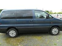 hyundai h1 2.5 diesel 7 setter left hand drive blue dec 2006 from spain