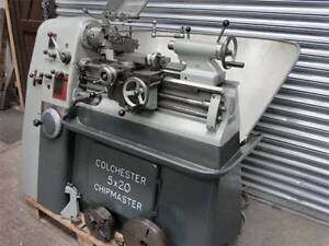 Looking for Colchester Chipmaster or Harrison 10AA lathe