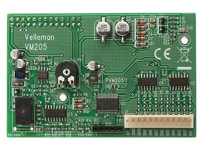 Velleman Vm205 Oscilloscope And Logic Analyzer Shield For Raspberry Pi