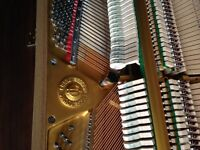 YOUNG CHANG PIANO WITH BENCH and lockable keyboard