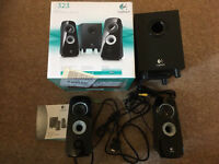 Logitech z323 speakers and subwoofer
