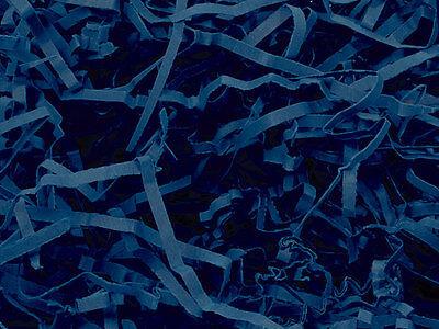 (Heavy Duty NAVY BLUE Gift Basket Shred Crinkle Paper Grass Filler Bedding)