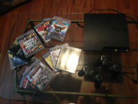 PlayStation 3 bundle with 11 Games ! **Negotiable**