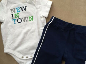 Baby clothes: 3 month outfits (22 items)