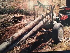 Remorque forestière  SKIDER pour VTT Saguenay Saguenay-Lac-Saint-Jean image 4
