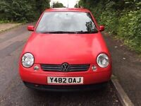 Volkswagen Lupo 1.0 3 doors 2001 in very good condition mot till January 2017