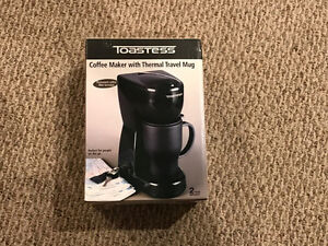 Coffee Maker with Thermal Travel Mug - Brand New!! Kitchener / Waterloo Kitchener Area image 1