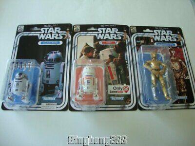 STAR WARS Black Series 40th Anniversary Droids R2-D2 R5-D4 C-3PO - NEW
