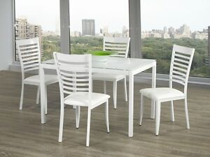 TUPELO 5 PCS DINING SET  (7 DAY SALE PAY ON DELIVERY)