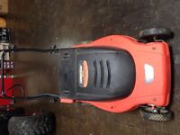 Lawn Mower Cordless 24V Battery Black and Decker