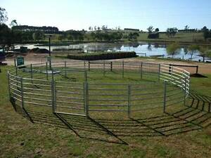 SPECIAL CHEAP Steel Portable Horse Cattle Stock Panels WITH Pins Hatton Vale Lockyer Valley Preview