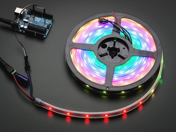 Adafruit NeoPixel Digital RGB LED Strip - Black 30 LED  5m spool