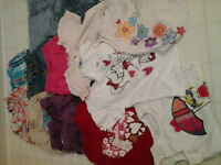 Girls Shorts and T-shirts, 3T