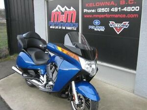 2016 Victory Vision Blue Fire Gloss