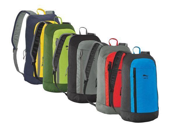 Crivit Mini Rucksack City-Bag leichtes Gepäck Rückentasche Reisesack NEU (R3)