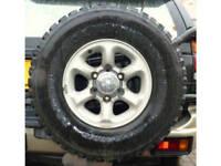 Mitsubishi Alloy Wheel & 31 10.5 15 tyre 6 stud 4x4 fits most Jap vehicles Isuzu Hilux
