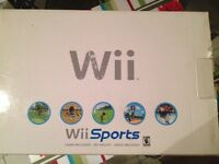 Wii console avec cable component