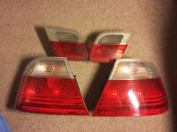 BMW E46 Pre-Facelift Rear lights