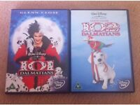 DISNEY 101 & 102 DALMATIANS DVDS