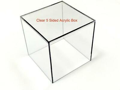 18 Thick Clear Acrylic Box