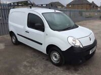 2011 RENAULT KANGOO 1.5 DCI 70 , 1 YEAR MOT, 1 OWNER, WARRANTY £2995