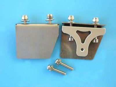 Trimmklappen 38 x 31mm CNC Trimm Tabs klein für RC Rennboote Kleine Tabs
