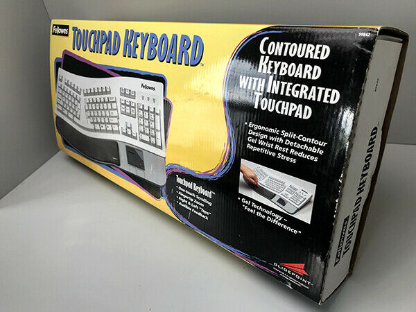 VINTAGE FELLOWS CONTOURED KEYBOARD INTEGRATED TOUCHPAD NEW I