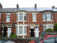 3 bedroom flat in Heaton, Newcastle Upon Tyne , NE6 (3 bed)