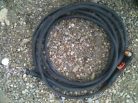 Plasma cutter hose and consumables