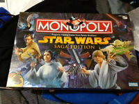 Star Wars Monopoly: Saga edition