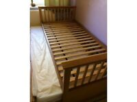 Pull out bed