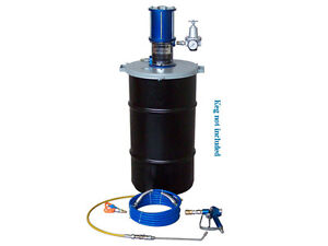 Complete Airless System for Rust Proofing