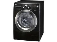 ++++ 8KG LG BLACK WASHING MACHINE INCLUDES 12 MONTHS GUARANTEE