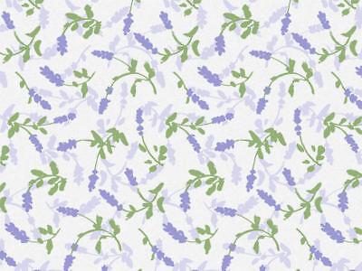 - LAVENDER FIELD Print Design Tissue Paper Sheets 20