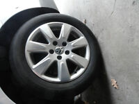 4x Summer Tires 215/55R16 Michelin with MAGS Volkswagen