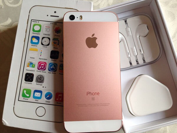 iPhone 5s 16gb rose goldunlocked) any networkin Crewe Toll, EdinburghGumtree - Iphone 5s 16gb metallic rose gold and white (unlocked) any networkThe phone is 100% fully working and in immaculate condition due to a completely new housing metal rose. Just to be clear, this is not the iPhone 5se. This is the iPhone 5s, which has a...
