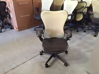Herman Miller Mirra Chair with Green Mesh