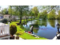 PRIVATE SALE STATIC HOLIDAY HOME - SOUTH FACING PITCH, PRIVATE PARKING