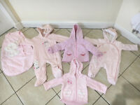 Baby Girl Clothing Bundle x 46 items