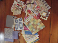 Large Amount of Scrapbooking Materials